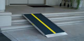 portable doorway ramp for homes