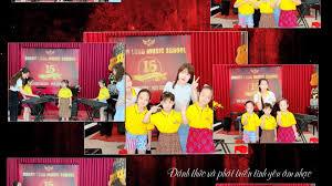 Hoàng Long Music School - Inh lả ơi (organ)