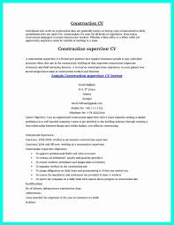 Resume Template For Construction Worker Unique 6 Sample Construction