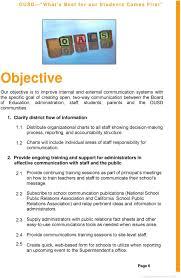 Ousd Org Chart Orange Unified School District Pdf