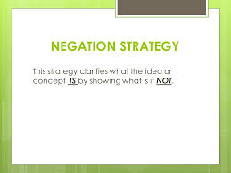 definition essay you can use these strategies of definition to 8 negation strategy this strategy clarifies what the idea or concept is by showing what is it not