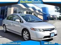 used 2007 honda civic lx sedan in bedford hills ny