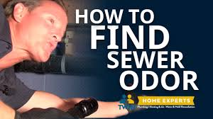 how to find a sewer odor you