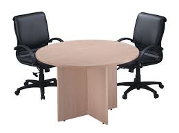 Round Office Table And Chairs Cryomats Module 21 Office