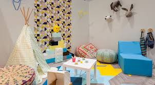Small Picture 25 Awesome Rooms That Inspire You to Try Out Geometric Wallpaper