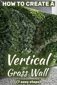 how to create a vertical grass wall 7