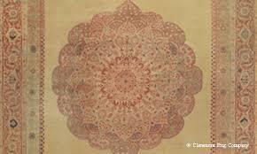 detail of hadji jallili tabriz rug