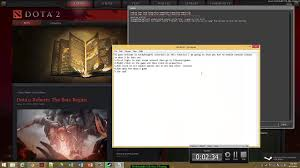 how to enable console box in dota 2 or dota 2 reborn youtube