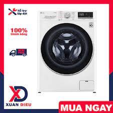 Máy giặt LG Inverter 9 kg FV1409S4W Model 2020 - Giặt nước nóng, Giặt hơi  nước, Bảo hành 24 tháng, giao miễn phí HCM