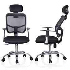 modern home office chair. ktaxon mesh back modern home office chair tilt swivel high computer executive chairblack