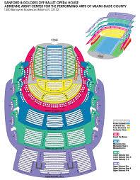 Broward Center Seating Chart Florida Grand Opera About Fgo Venues