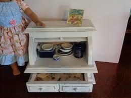 14 18 Inch Doll Kitchen Sideboard Dish Linen Cabinetamerican Girl