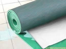 image titled clean a yoga mat step 5