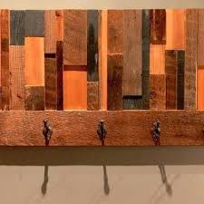 Reclaimed Wood Wall Coat Rack Wooden Wall Coat Rack Reclaimed Wood Wall Coat Rack Recycled Wood 45
