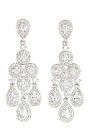 nadri cubic zirconia chandelier earrings nordstrom nadri chandelier earrings