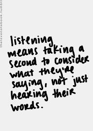 Listening Quotes Fascinating Quote On Listening FaveThing