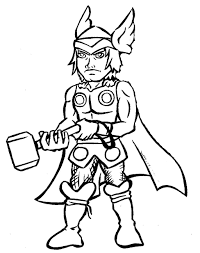 Small Picture Thor Coloring Pages coloringsuitecom