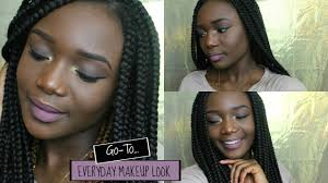 go to everyday makeup look ft sacha ercup setting powder beginner friendly missvalarie you