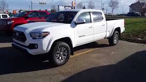 2016 Toyota Tacoma Double Cab 4X4 SR5 V6 Standard package with ...