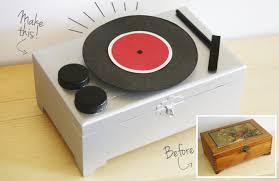 diy record player jewelry box