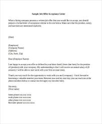 letter to accept job accept job offer military bralicious co