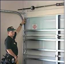repair for roll down garage door if