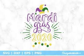 In free cut files svg on july 13, 2018. Mardi Gras 2020 Svg File