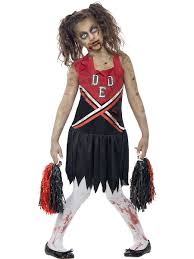 smiffy zombie cheerleaders costume