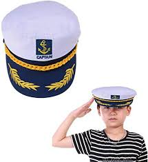 Welecom Sailor Captain Hat Embroidery Boat Ship ... - Amazon.com