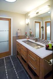 No Room For A Double Sink Vanity Try A Trough Style Sink With Two 5 Foot Double Sink Vanity
