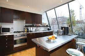 Small Modern Kitchens Stainless Steel Kitchen Island Countertop Kitchen Modern Kitchen