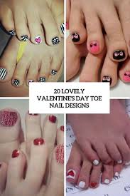 Pedicure Nail Designs 2013 20 Lovely Valentines Day Toe Nails Designs Styleoholic