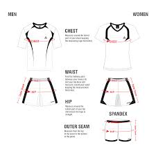 Volleyball Size Chart Volleyball Jog Athletics