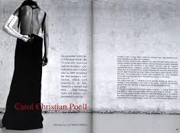 carol christian poell interview th carol christian poell interview