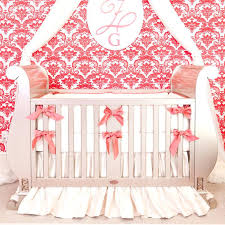 rose baby nursery ivory crib bedding set by little crown interiors a well