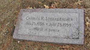 Grave of Charles Starkweather - Nebraska\u0027s Serial Killer - Wyuka ...