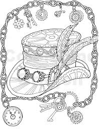 Ladies Hat Coloring Pages Print Jokingartcom Ladies Hat Coloring