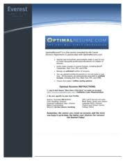 Optimal Resume Information Technology Solutions Type Text