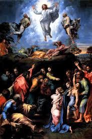 religious paintings by famous artist the transfiguration by raphael sanzio 1516 1520 vatican cityhigh renaissanceitalian