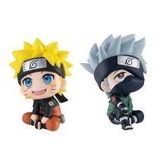 New Q Posket Naruto Look Up Anime Hatake Kakashi Uzumaki PVC Action Figure  Model Collection Toys Ornaments Decoration
