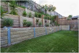 Small Picture Backyards Splendid Backyard Retaining Wall Garden Retaining Wall