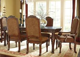 North Shore Upholstered Dining Room Set - Traditional dining room set