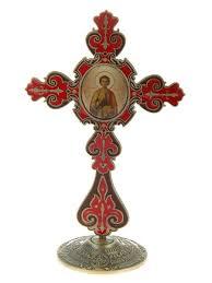 """Крест <b>настольный</b> с иконой """"Великомученик и Целитель ..."""