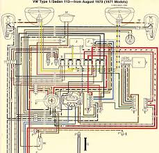 wiring diagram for 1971 vw bus the wiring diagram thesamba beetle late model super 1968 up view topic · 1969 volkswagen bus wiring diagram