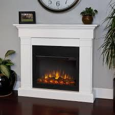 white fireplace heater lifesource 20 tall with