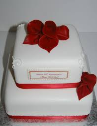 40th Wedding Anniversary Cake Designs Cake Image Diyimagesco
