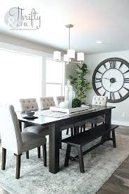 astonishing dining room table rug dining room roman numeral clock plants table farmhouse rug elegant rug