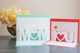 Be sure to download the free pop up heart mother's day card template. Mom I Love You Pop Up Cards With Free Silhouette Cut Files One Dog Woof