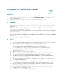 Mutual Confidentiality Agreement Best Personal Confidentiality Agreement For Photographer Consultant Non