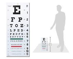 Snellen Plastic Eye Chart